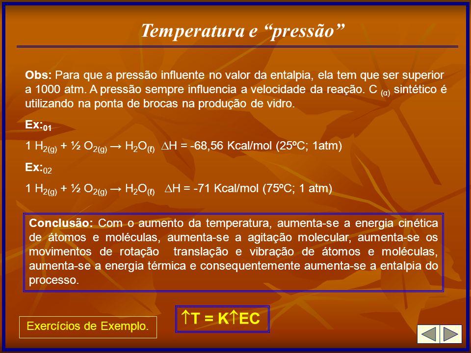 Temperatura e pressão