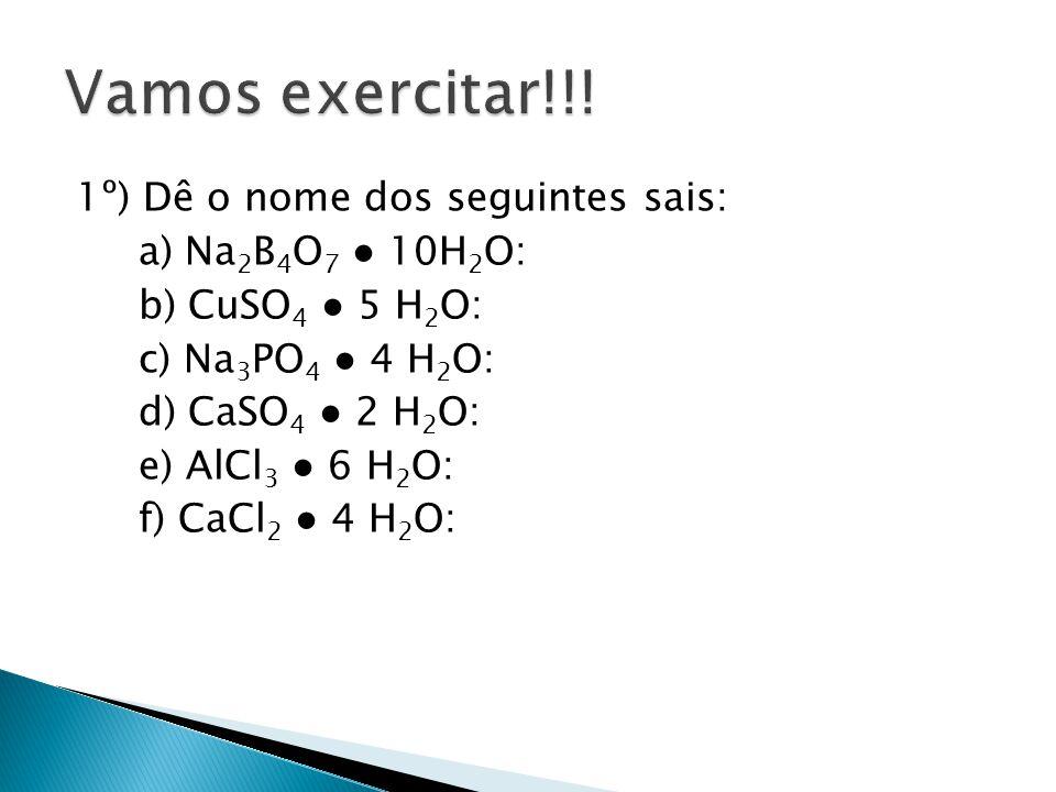 Vamos exercitar!!!