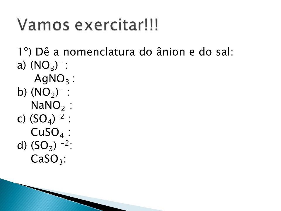 Vamos exercitar!!.
