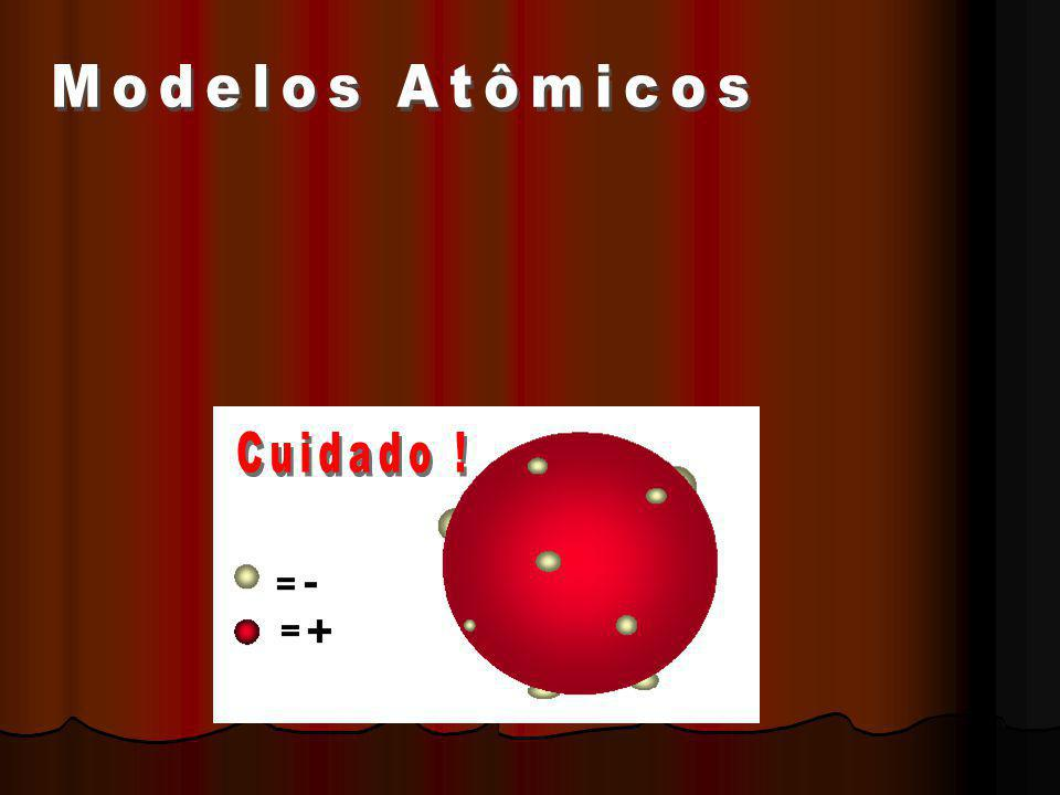 Modelos Atômicos Cuidado !