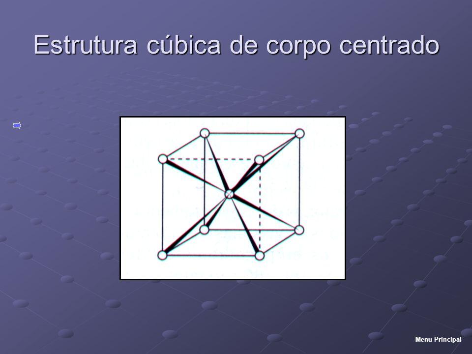 Estrutura cúbica de corpo centrado
