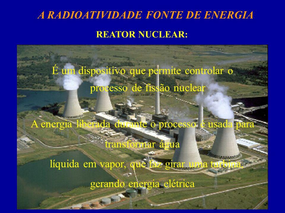 A RADIOATIVIDADE FONTE DE ENERGIA