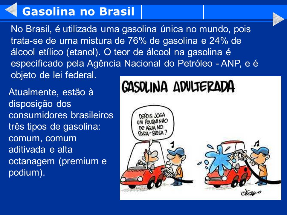 Gasolina no Brasil
