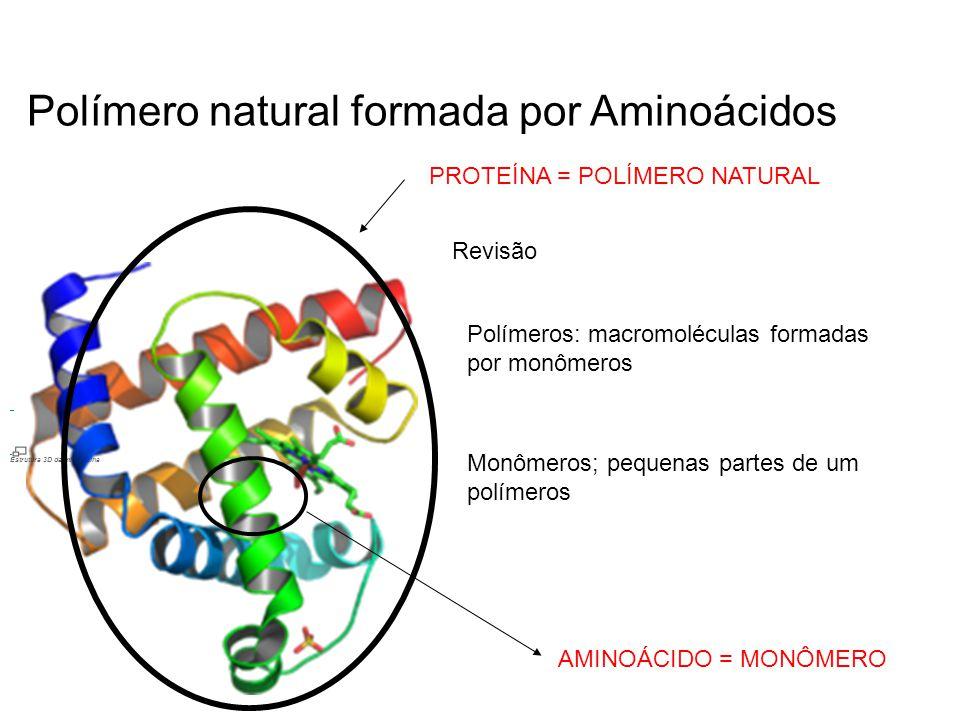 Polímero natural formada por Aminoácidos