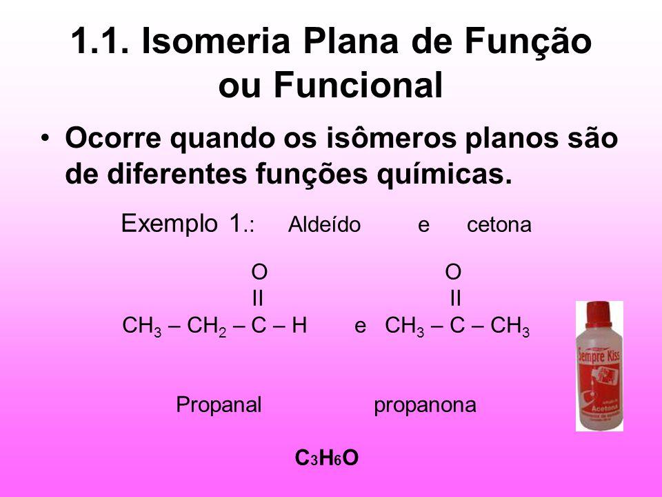 1.1. Isomeria Plana de Função ou Funcional