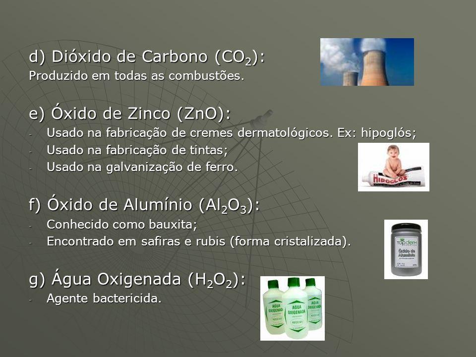 d) Dióxido de Carbono (CO2):