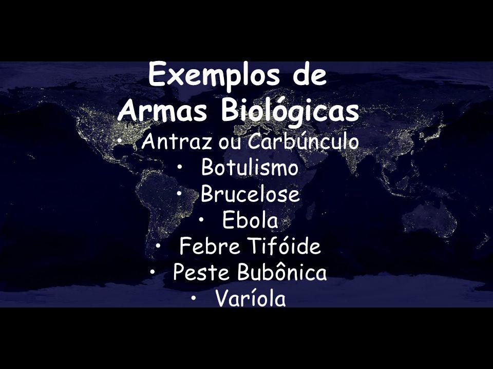 Exemplos de Armas Biológicas