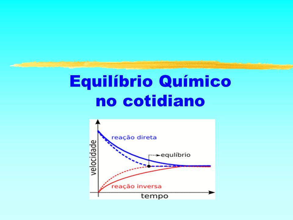 Equilíbrio Químico no cotidiano