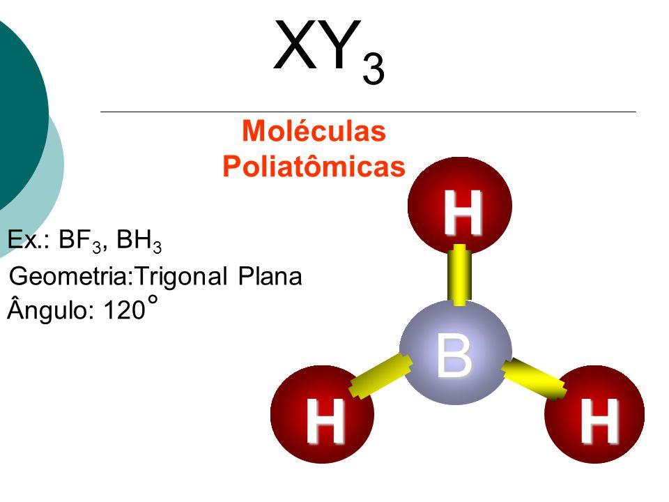 Moléculas Poliatômicas