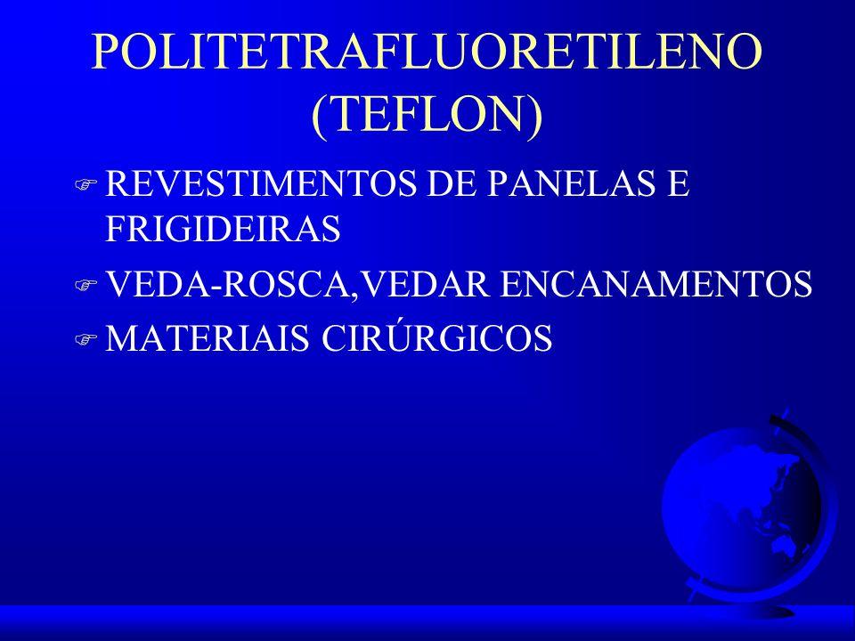 POLITETRAFLUORETILENO (TEFLON)