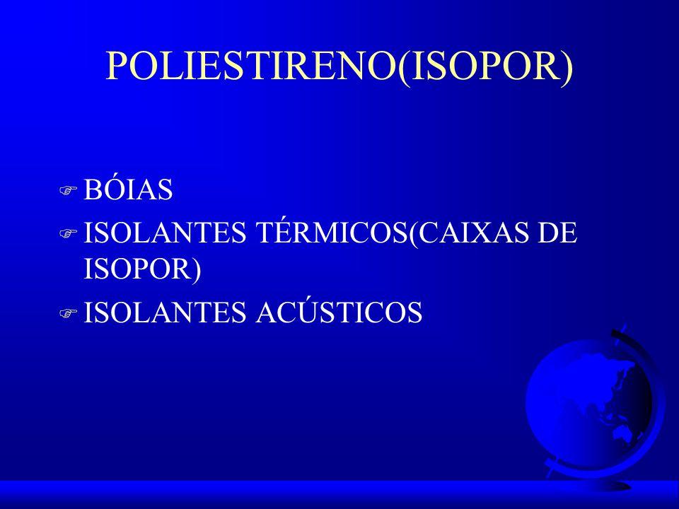 POLIESTIRENO(ISOPOR)