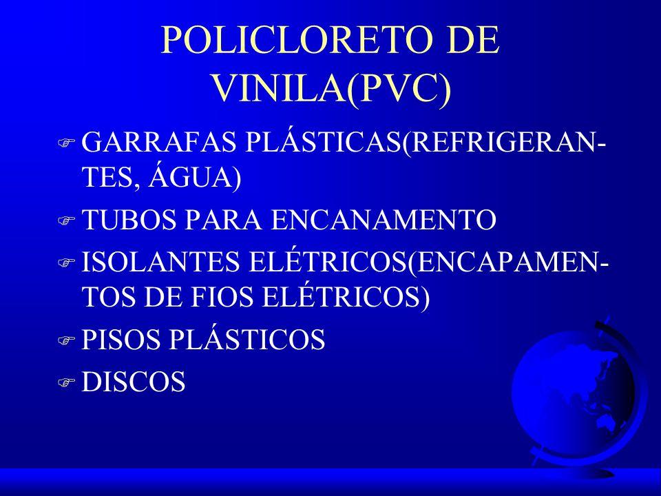 POLICLORETO DE VINILA(PVC)