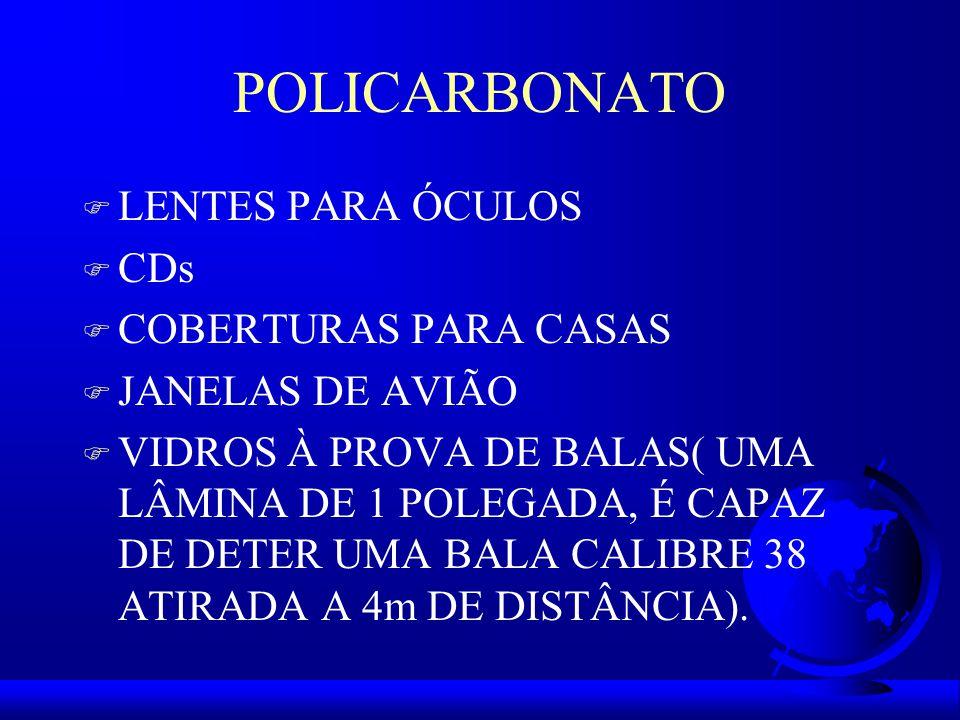 POLICARBONATO LENTES PARA ÓCULOS CDs COBERTURAS PARA CASAS