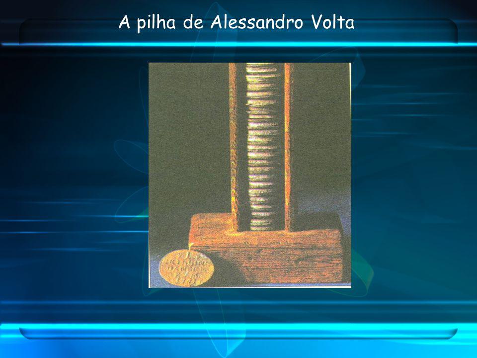 A pilha de Alessandro Volta
