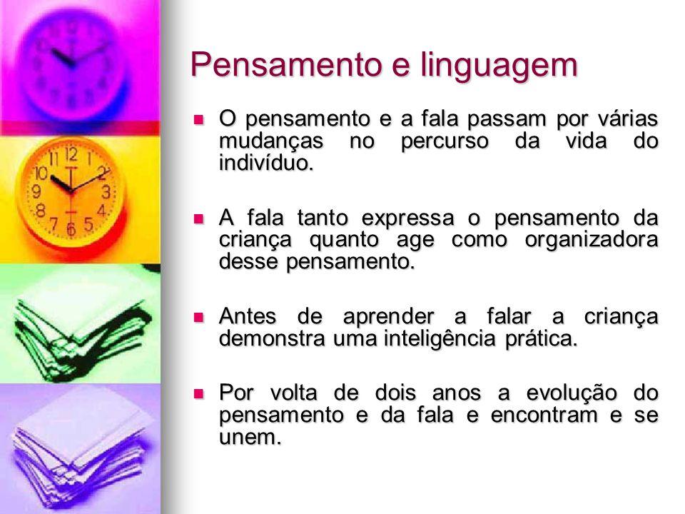 Pensamento e linguagem