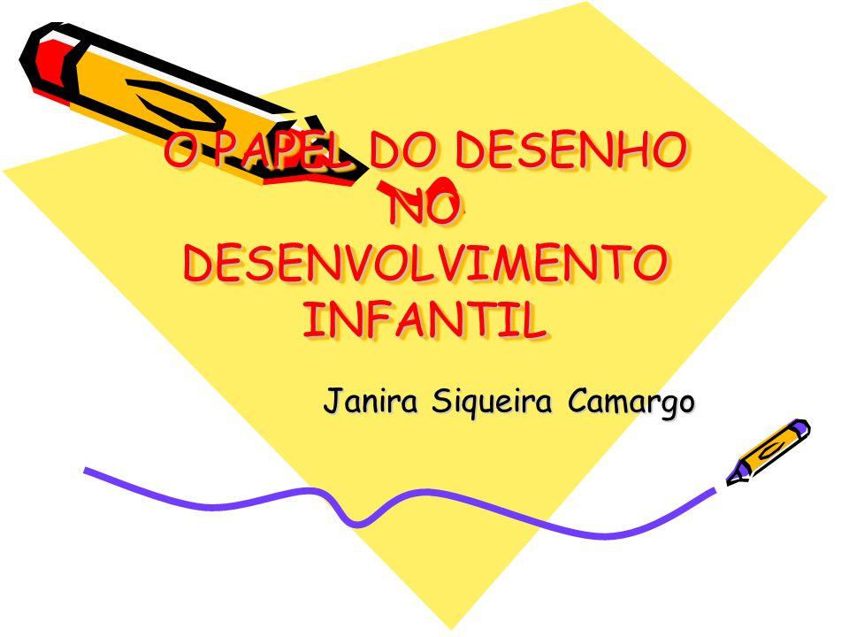 O PAPEL DO DESENHO NO DESENVOLVIMENTO INFANTIL