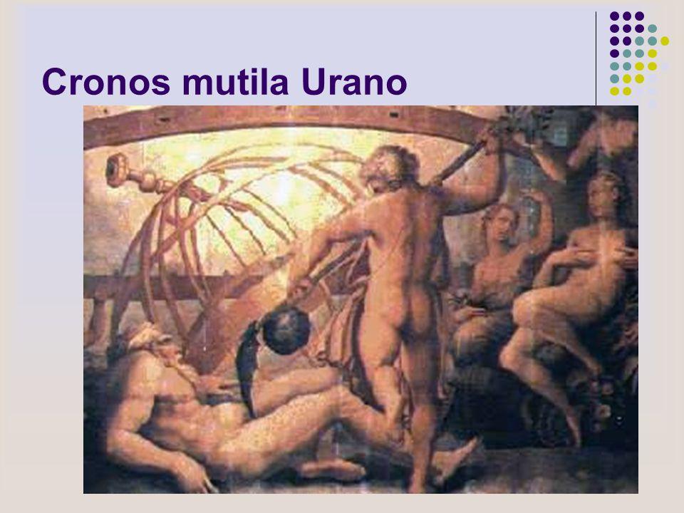 Cronos mutila Urano