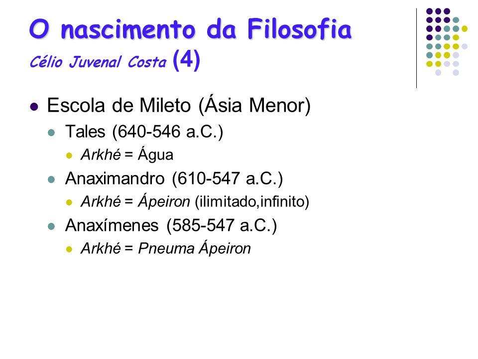 O nascimento da Filosofia Célio Juvenal Costa (4)