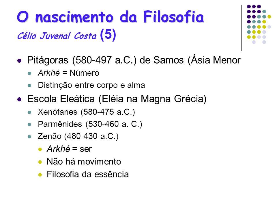 O nascimento da Filosofia Célio Juvenal Costa (5)