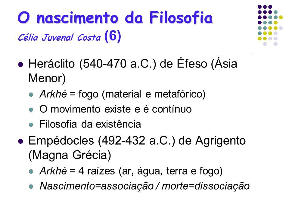 O nascimento da Filosofia Célio Juvenal Costa (6)