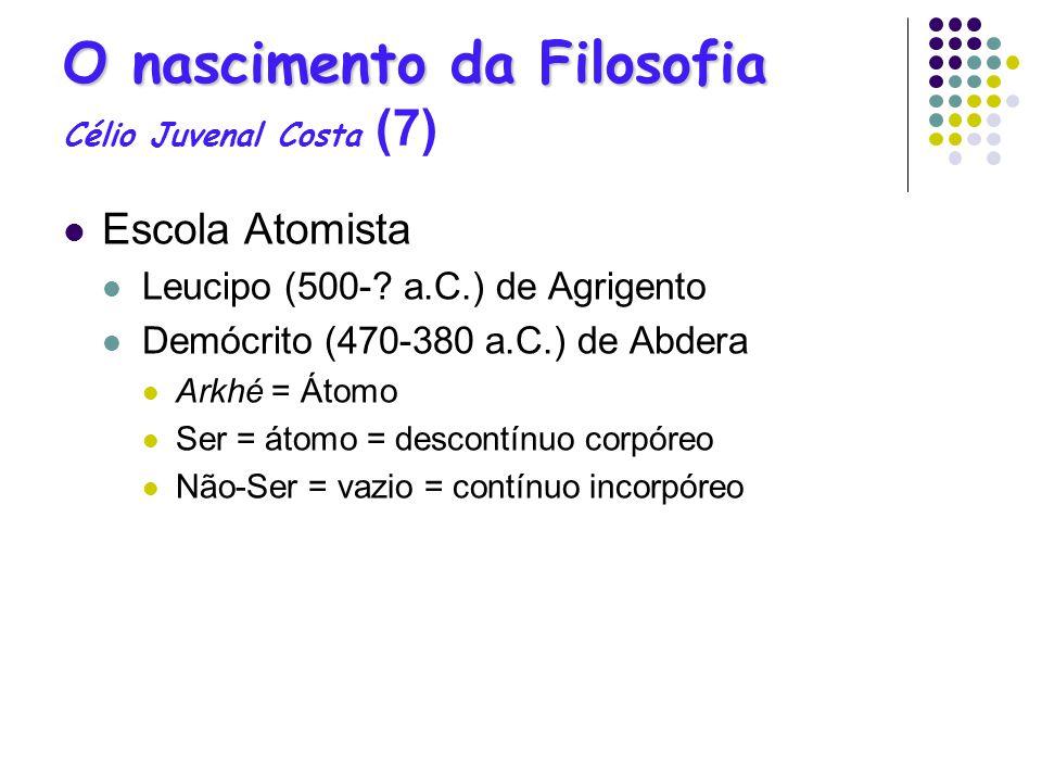 O nascimento da Filosofia Célio Juvenal Costa (7)