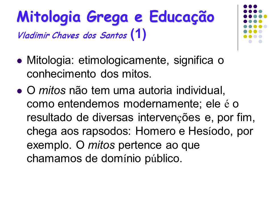 Mitologia Grega e Educação Vladimir Chaves dos Santos (1)