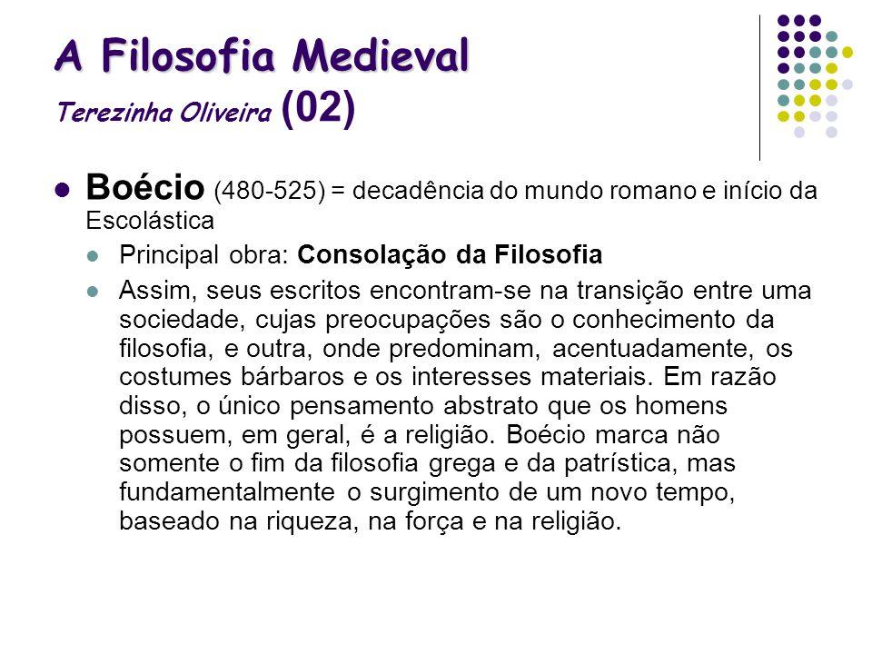 A Filosofia Medieval Terezinha Oliveira (02)