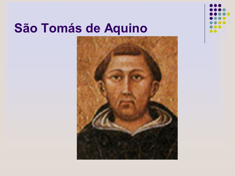 São Tomás de Aquino
