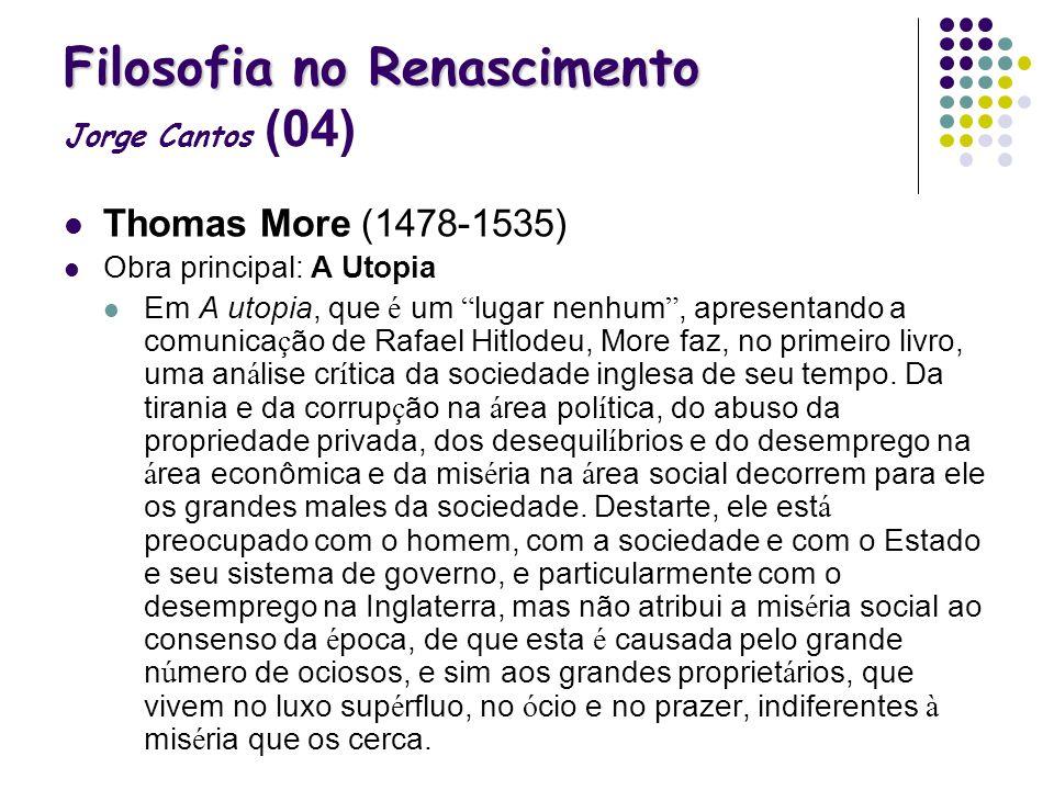 Filosofia no Renascimento Jorge Cantos (04)
