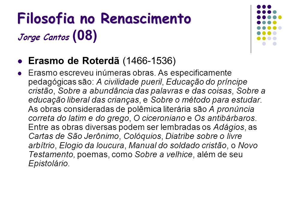 Filosofia no Renascimento Jorge Cantos (08)