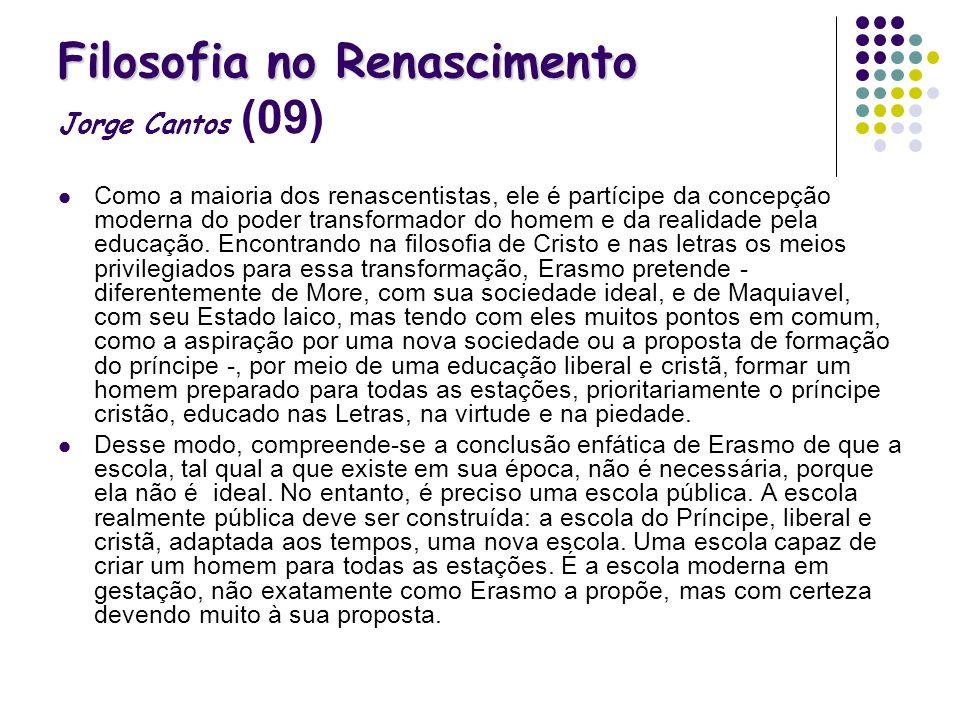 Filosofia no Renascimento Jorge Cantos (09)