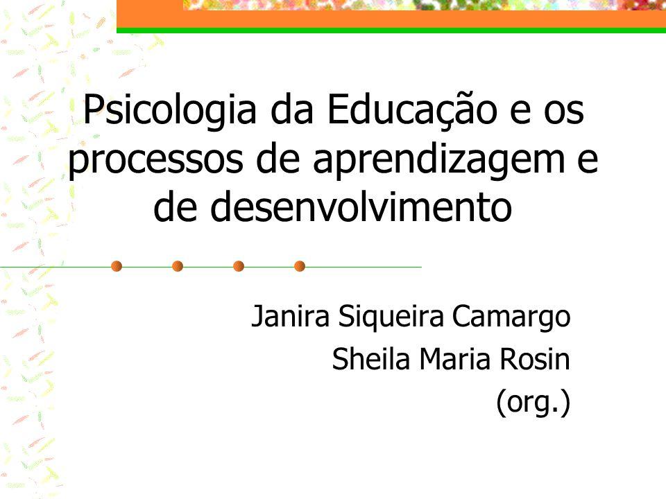 Janira Siqueira Camargo Sheila Maria Rosin (org.)