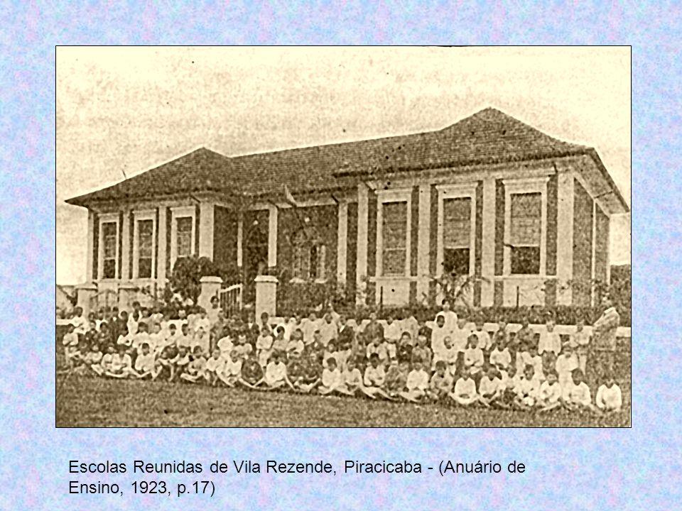 Escolas Reunidas de Vila Rezende, Piracicaba - (Anuário de Ensino, 1923, p.17)