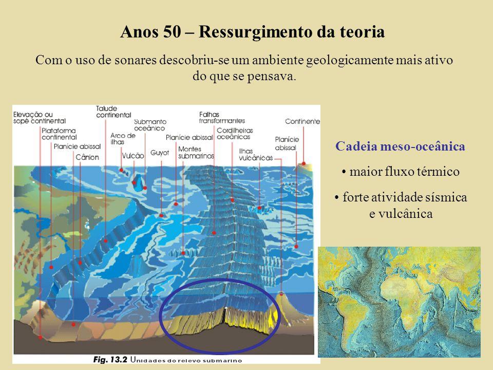 forte atividade sísmica e vulcânica