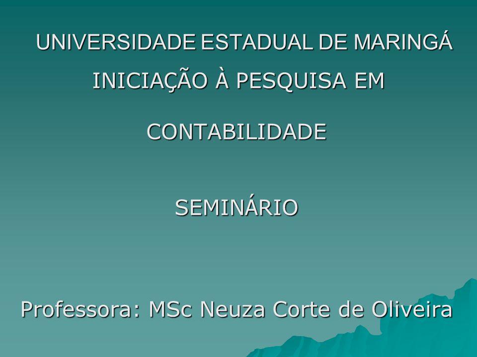 UNIVERSIDADE ESTADUAL DE MARINGÁ
