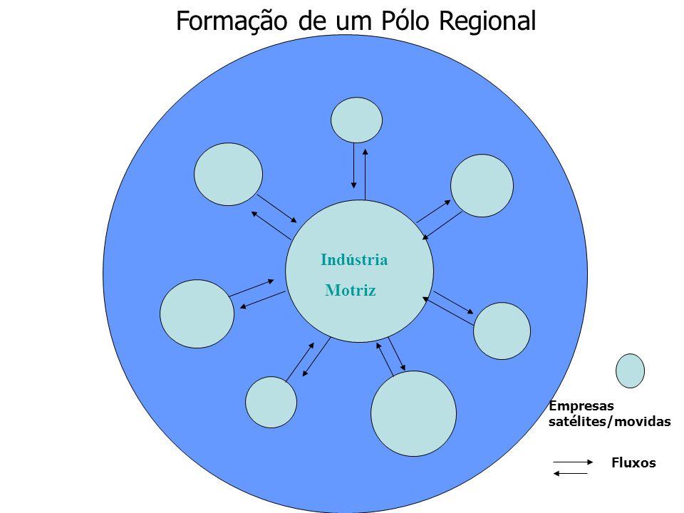 Formação de um Pólo Regional