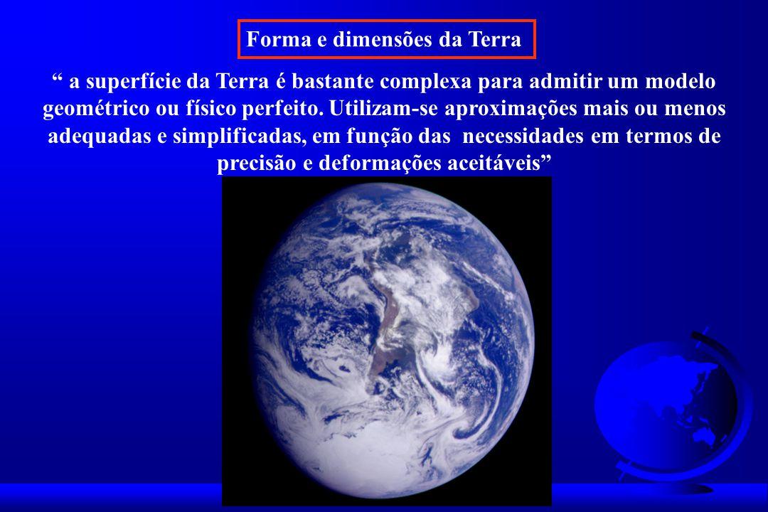 Forma e dimensões da Terra