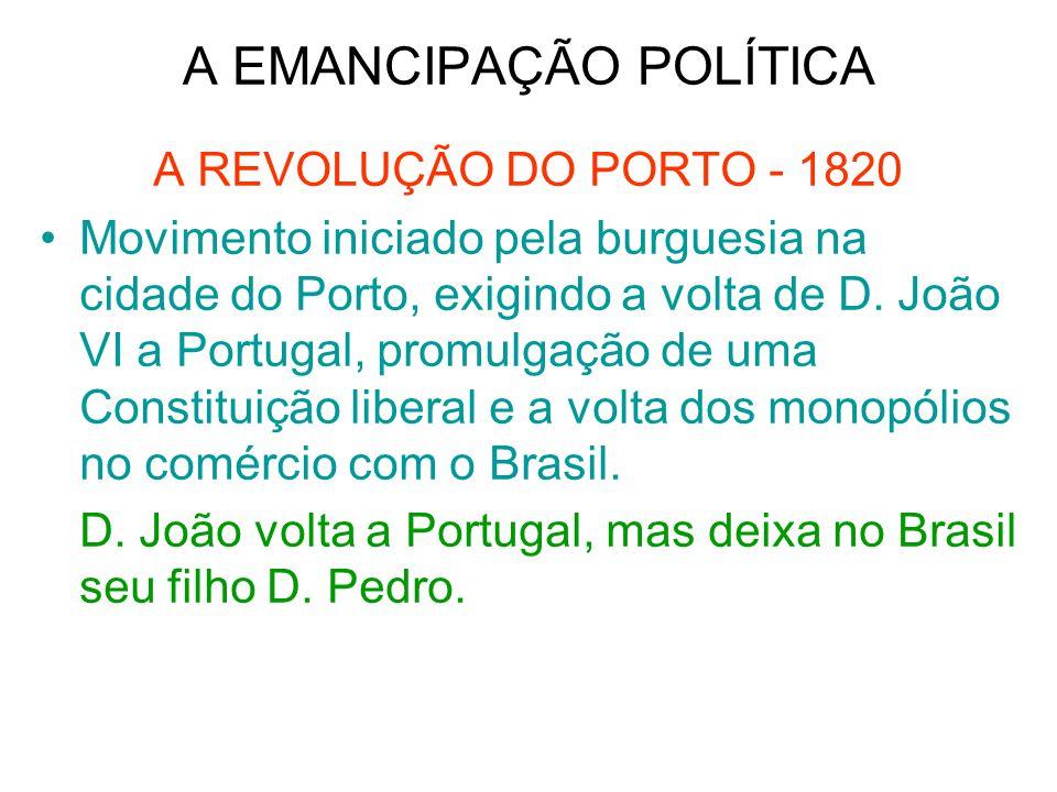 A EMANCIPAÇÃO POLÍTICA