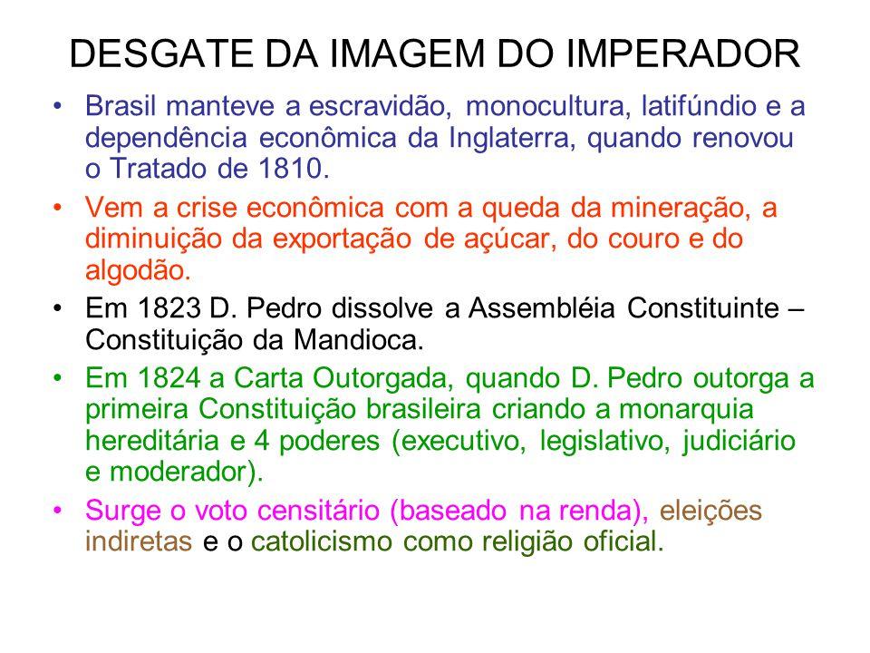 DESGATE DA IMAGEM DO IMPERADOR