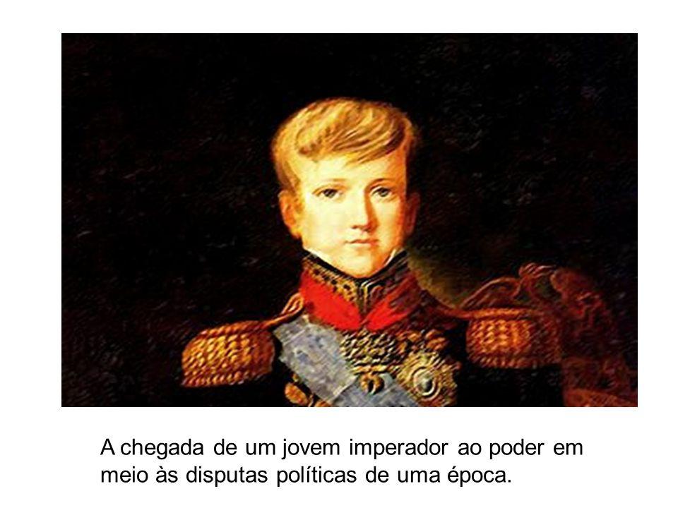 A chegada de um jovem imperador ao poder em meio às disputas políticas de uma época.