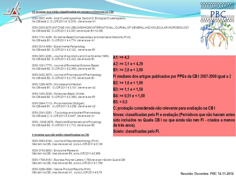 PBC Reunião Docentes PBC 12.11.2012