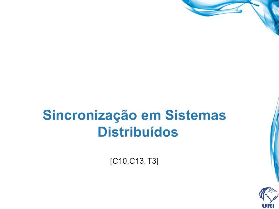 Sincronização em Sistemas Distribuídos