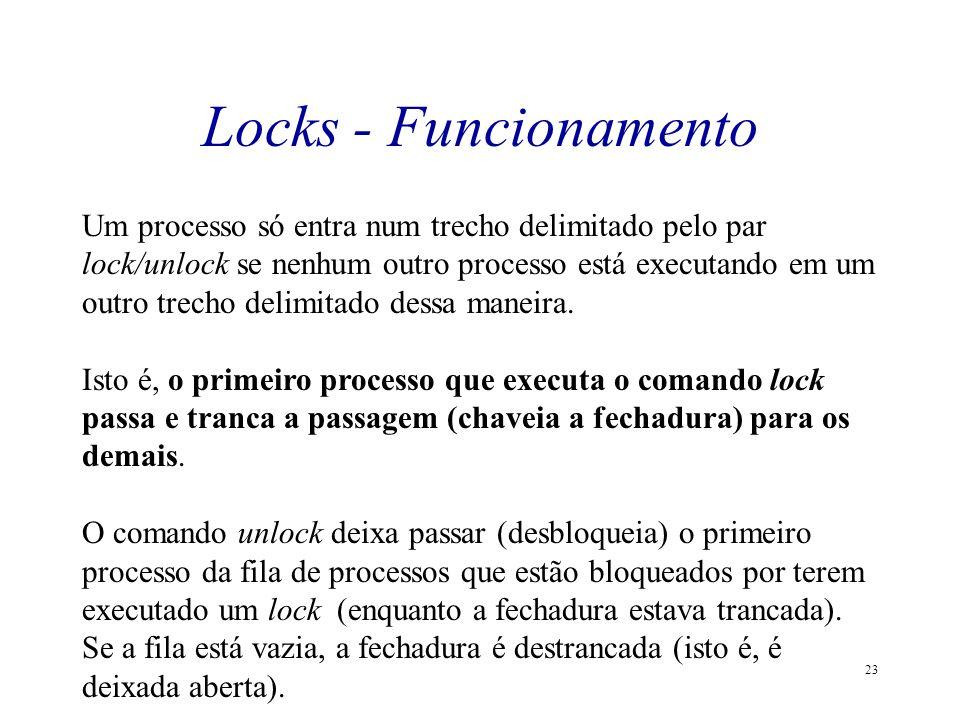 Locks - Funcionamento