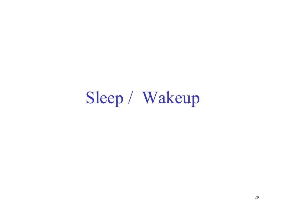 Sleep / Wakeup