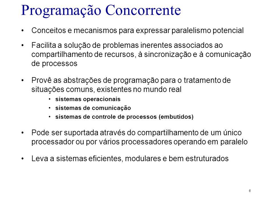Programação Concorrente