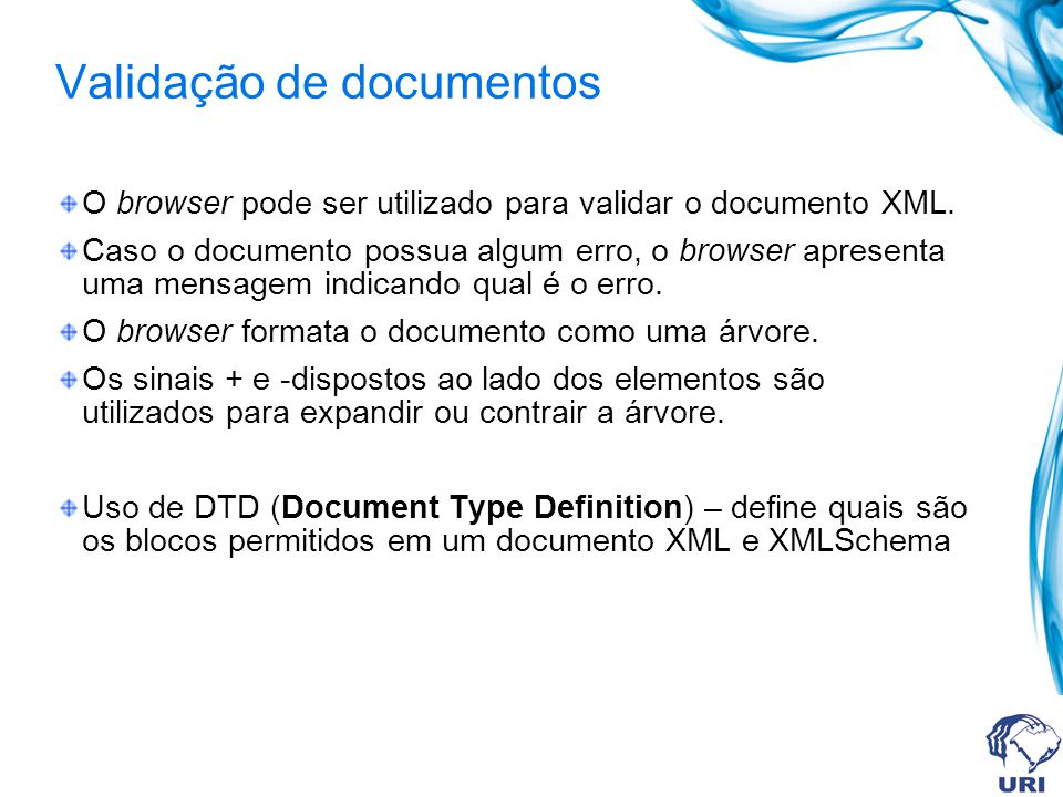Validação de documentos