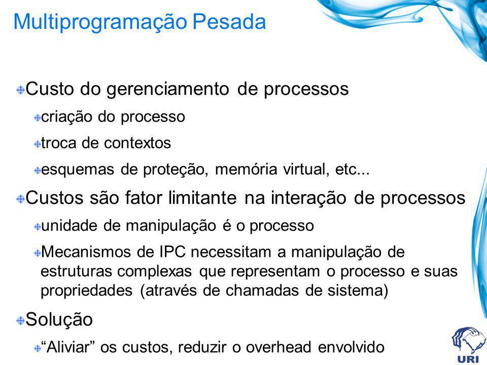 Multiprogramação Pesada