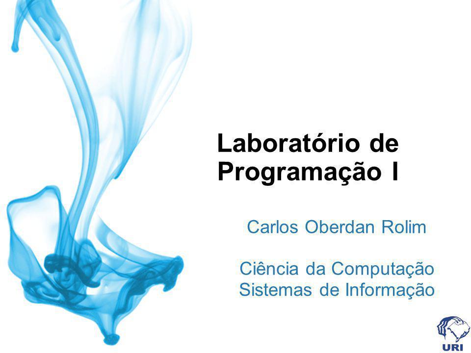 Laboratório de Programação I