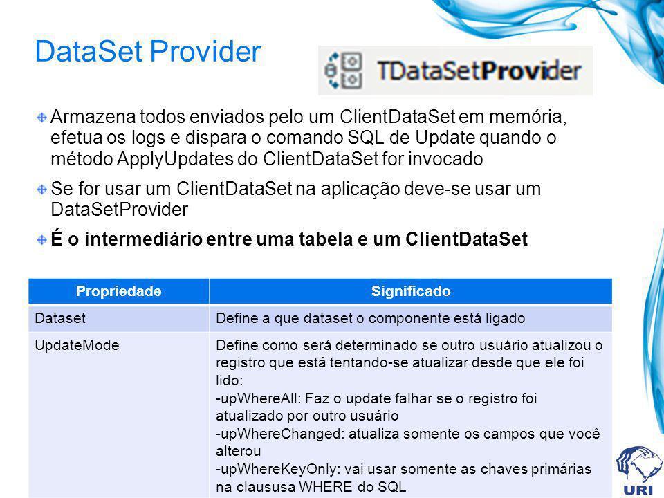 DataSet Provider