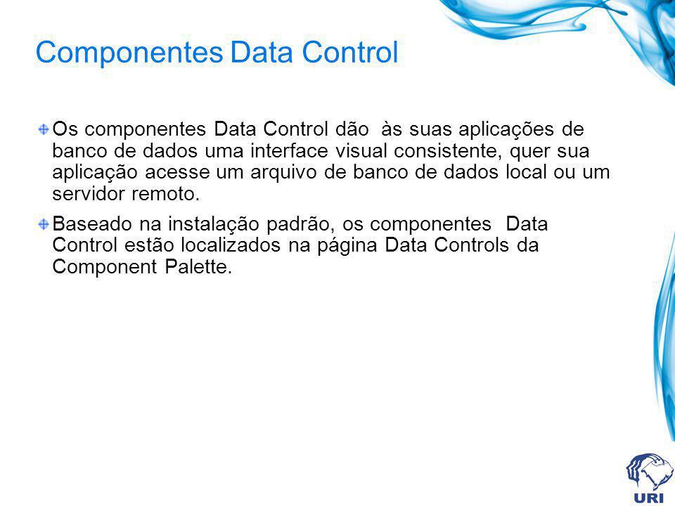 Componentes Data Control
